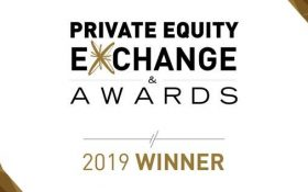 Private Equity Exchange & Awards_Gold Award in the Best European Growth Private Equity Fund category